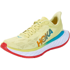 Hoka One One Carbon X 2 Shoes Women luminary green/hot coral